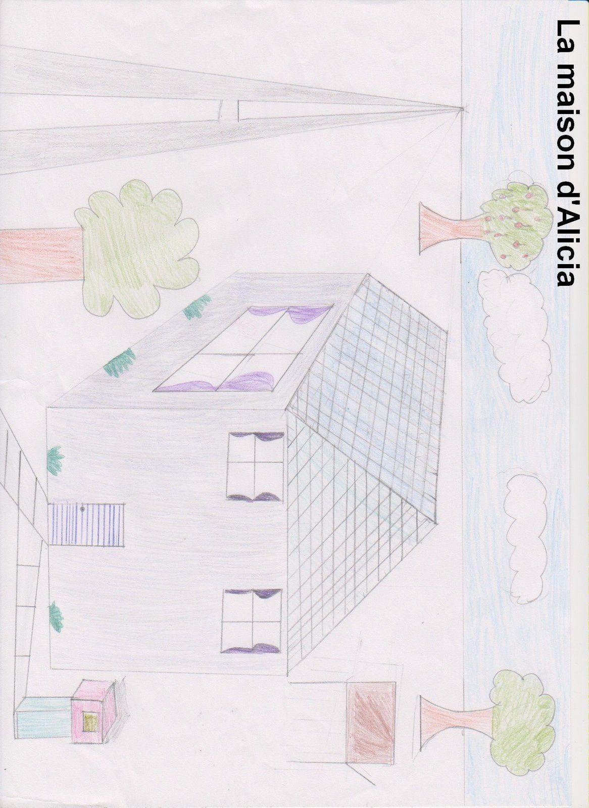 Des maisons en perspective