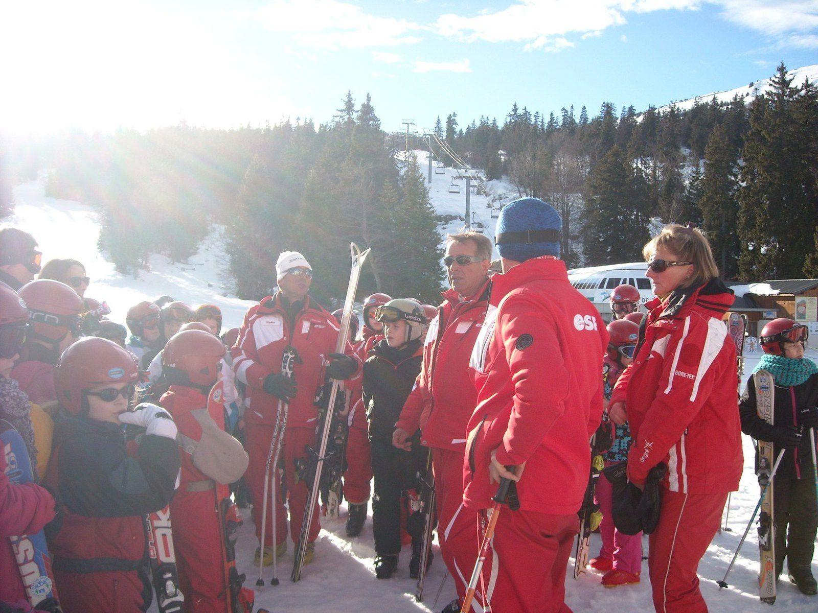 Première journée de ski