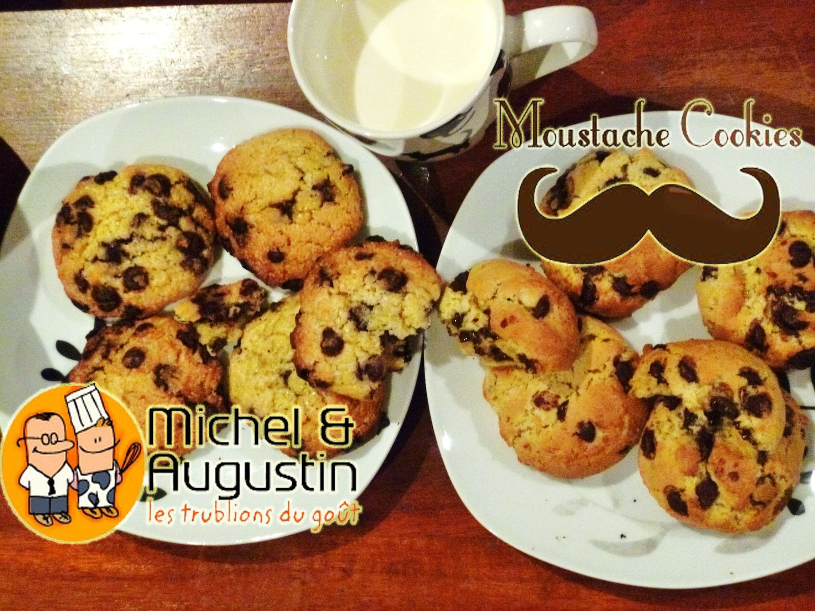 Cookies battle : Recettes Michel et Augustin vs Moustache Cookies
