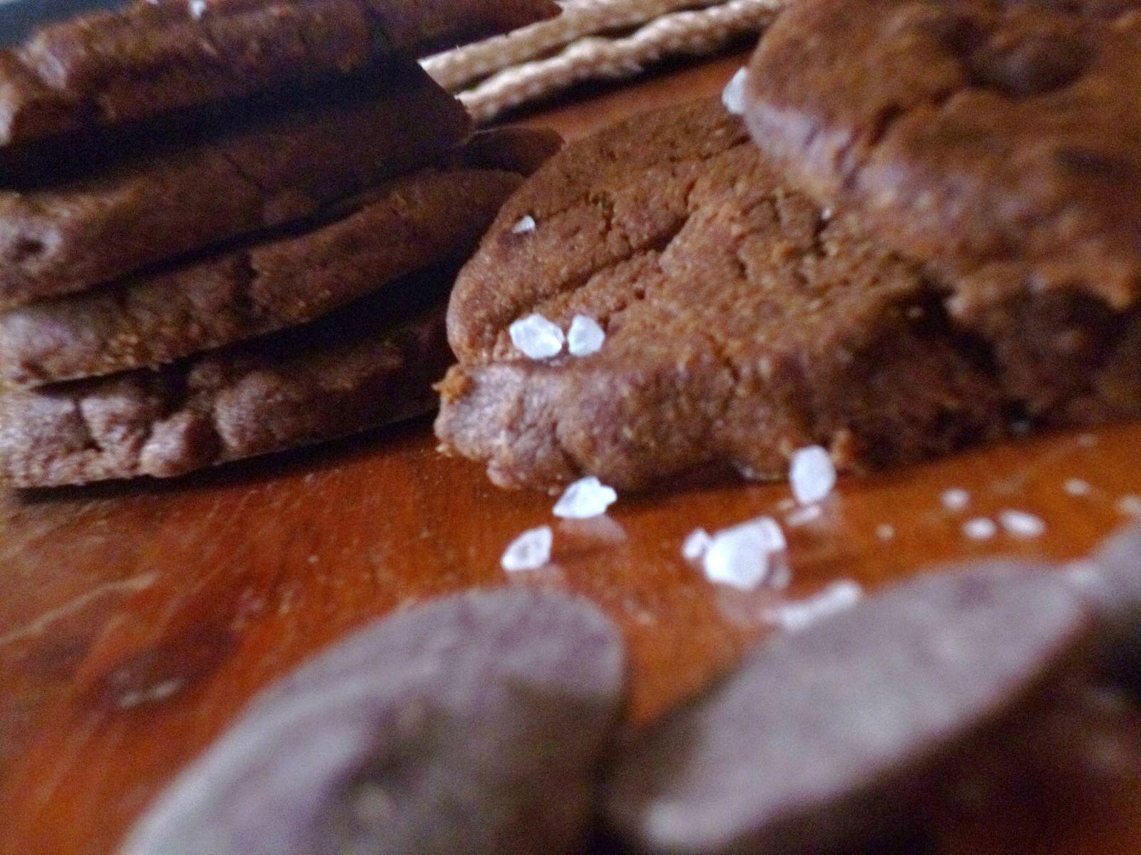 Biscuits au chocolat et Fleur de sel de Pierre Hermé