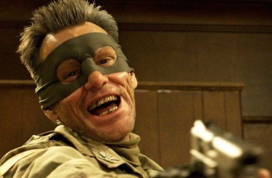 Le colonel Stars and Stripes (Jim Carrey)