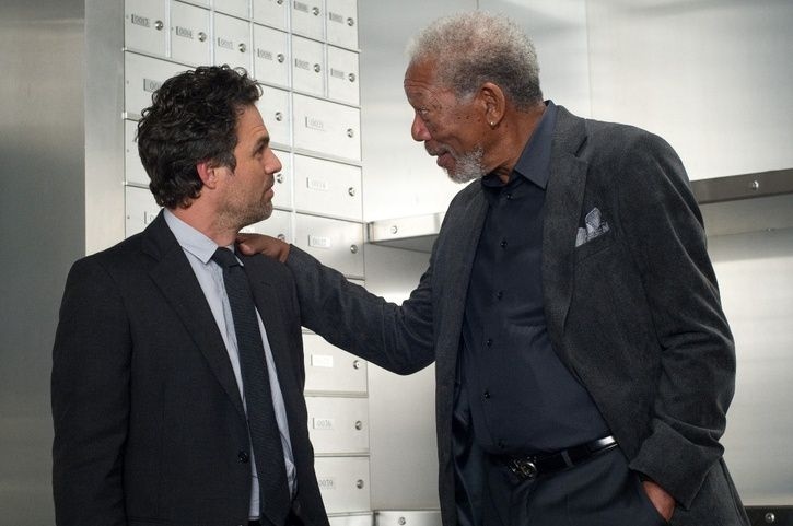 Mark Ruffalo et Morgan Freeman