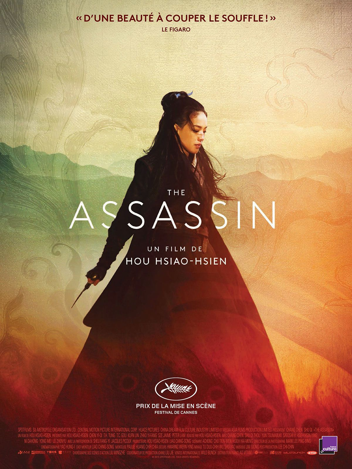 3) The Assassin (Hou Hsiao-Hsien)