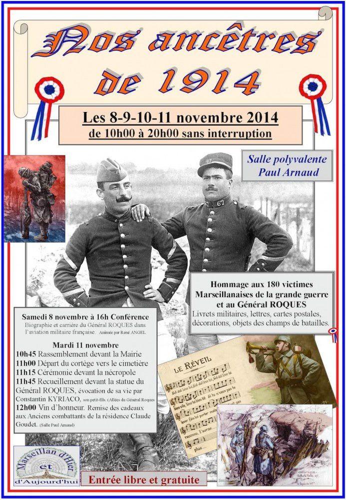 Nos Ancêtres de 1914 à Marseillan