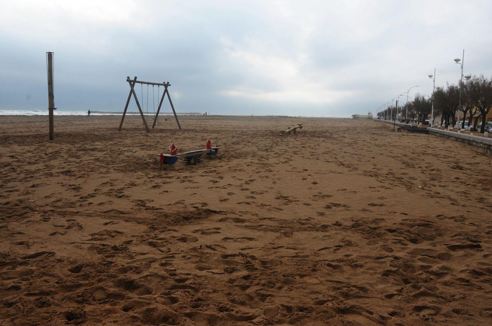 La plage est nickel même en hiver !!!