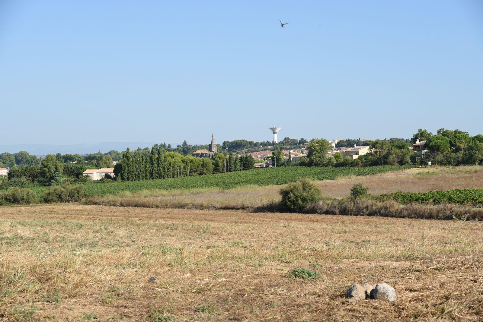 Le village vu du Prats de Giès