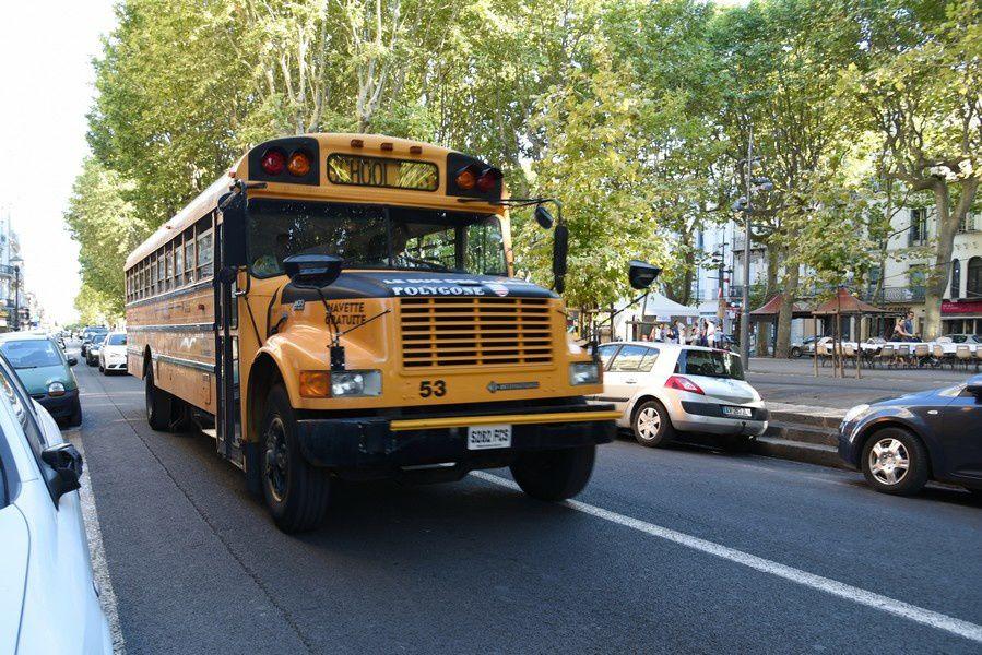 SCHOOL BUS americain (Photos Fcn, 20 août 2015)
