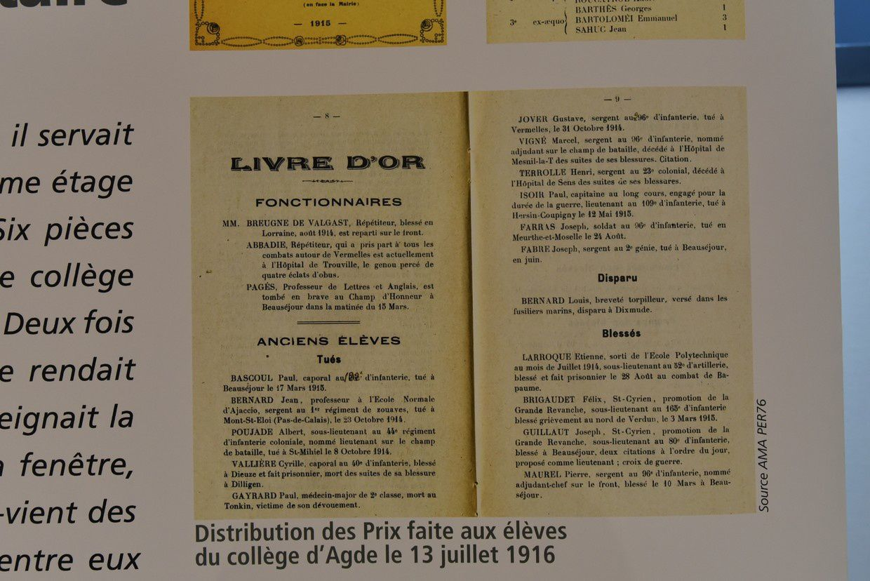 ... et des documents agathois