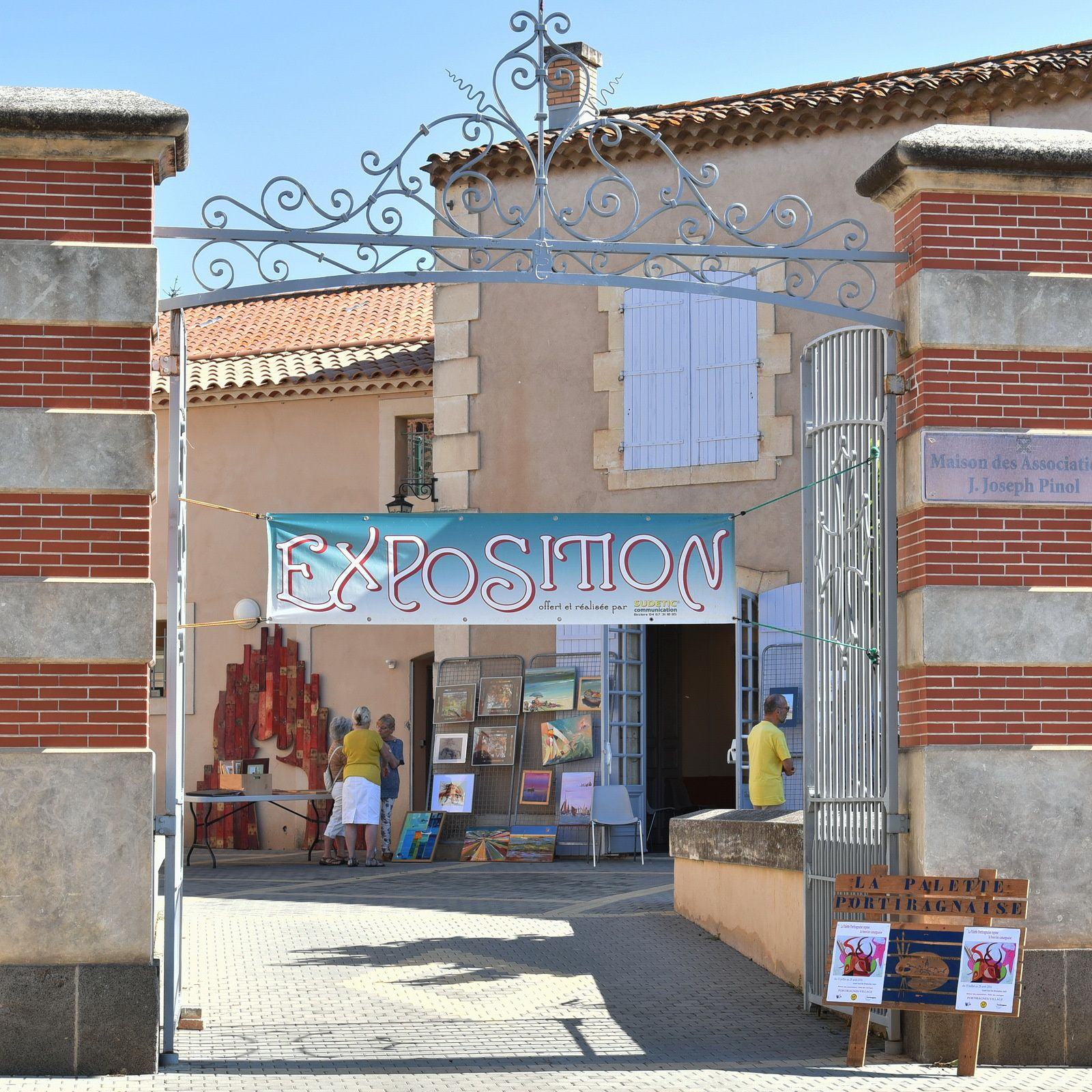 Expo de la Palette Portiragnaise à la Maison des Associations
