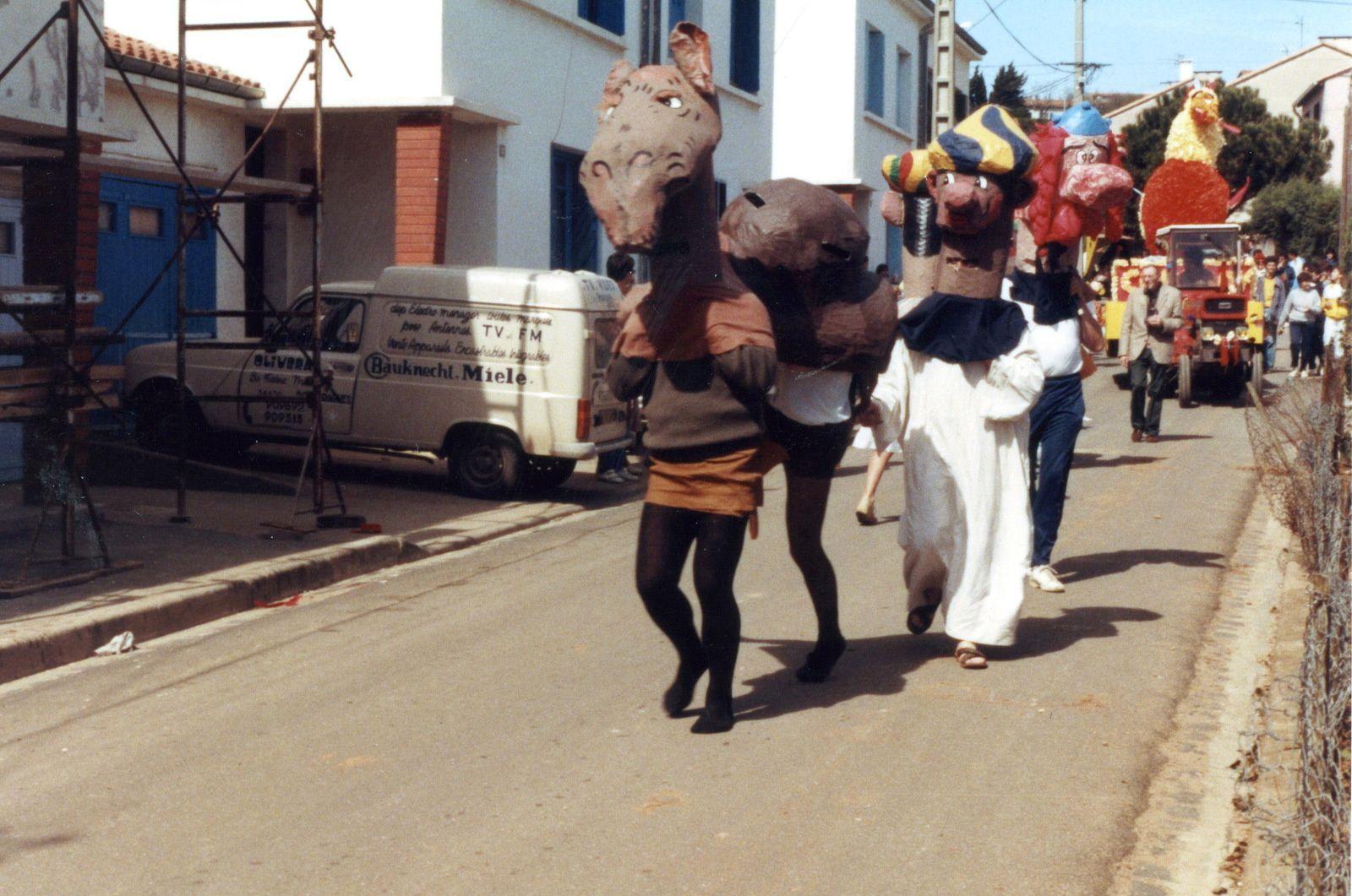 Carnaval d'autrefois...