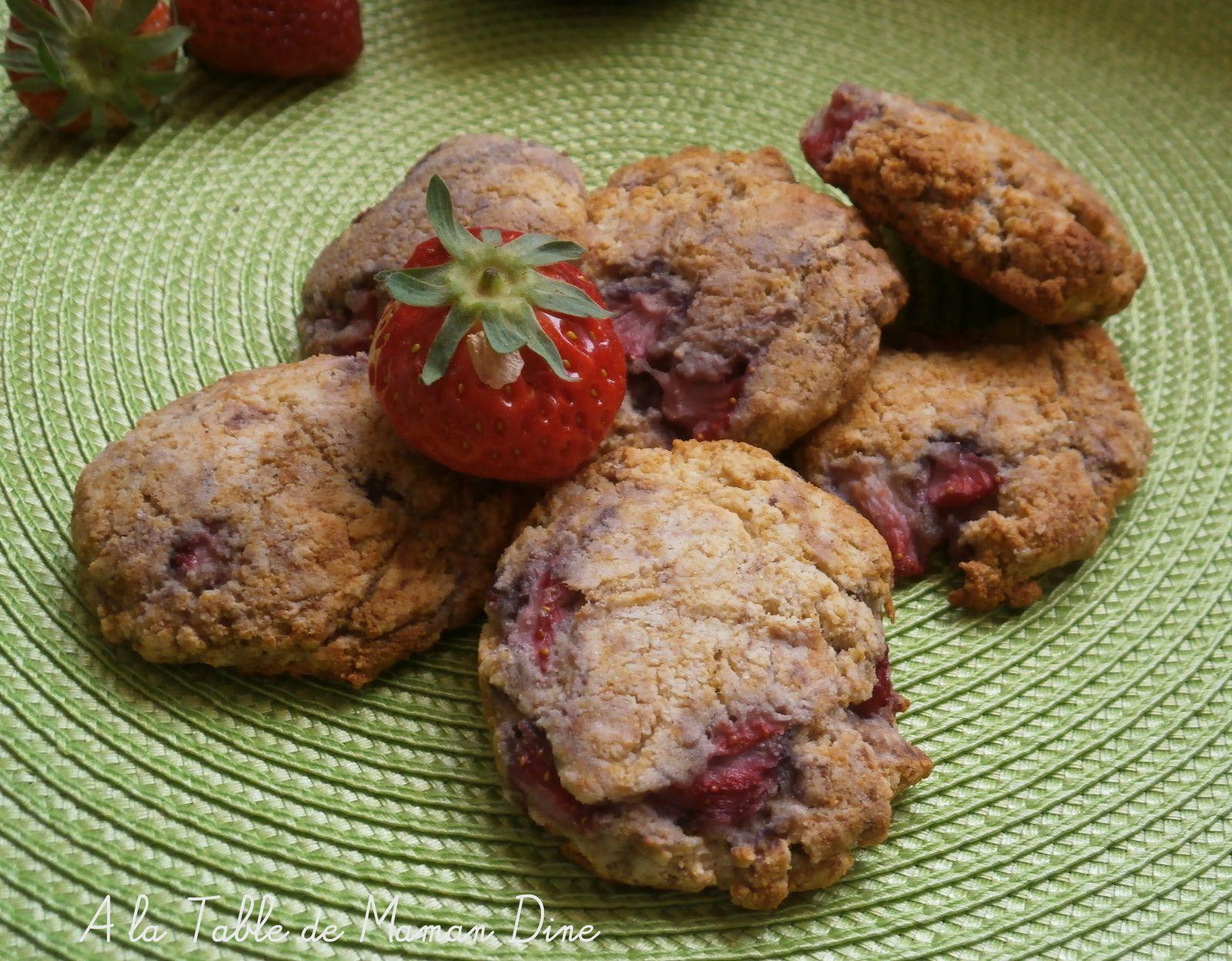 Cookies Végétaliens Fraisy Coco et Buttermilk Végan