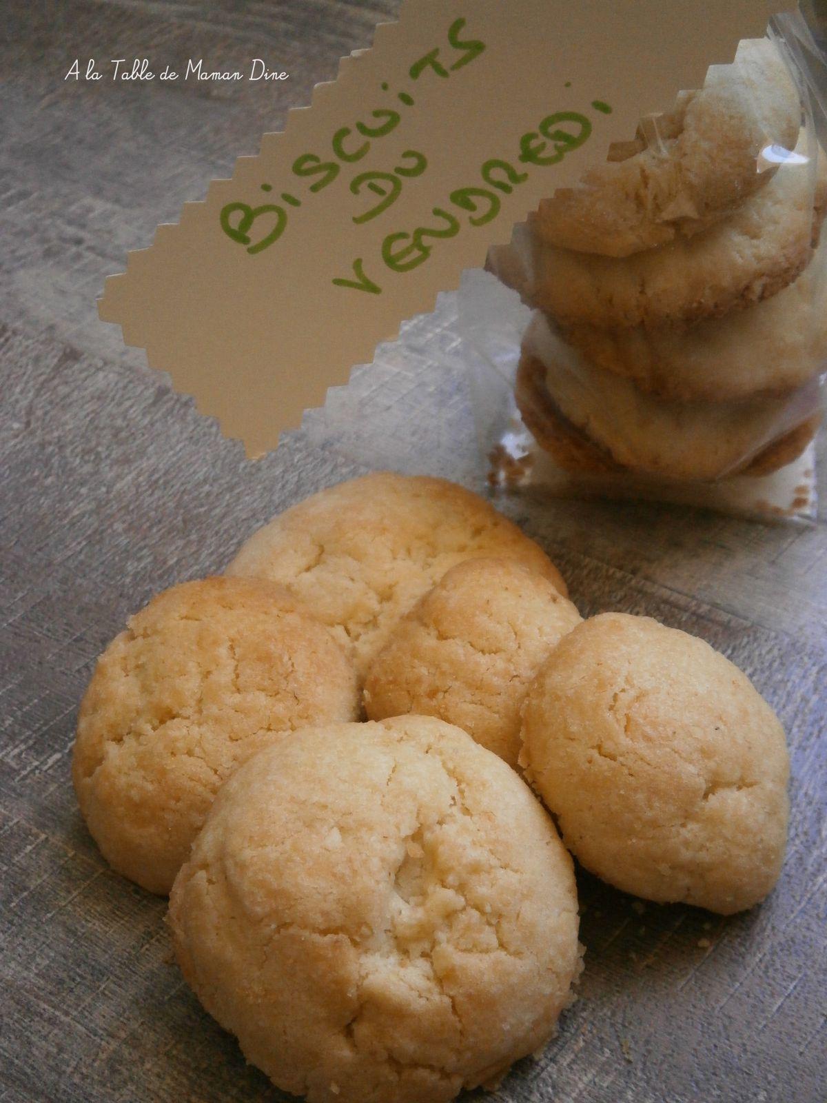 Biscuits du vendredi