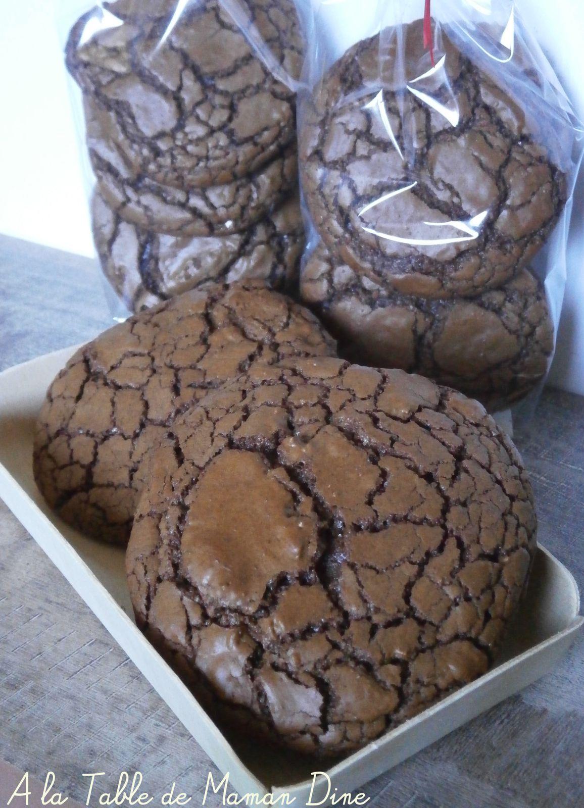 Cookies tout choco ~de Martha Stewart ~.... tellement irrésistibles.....