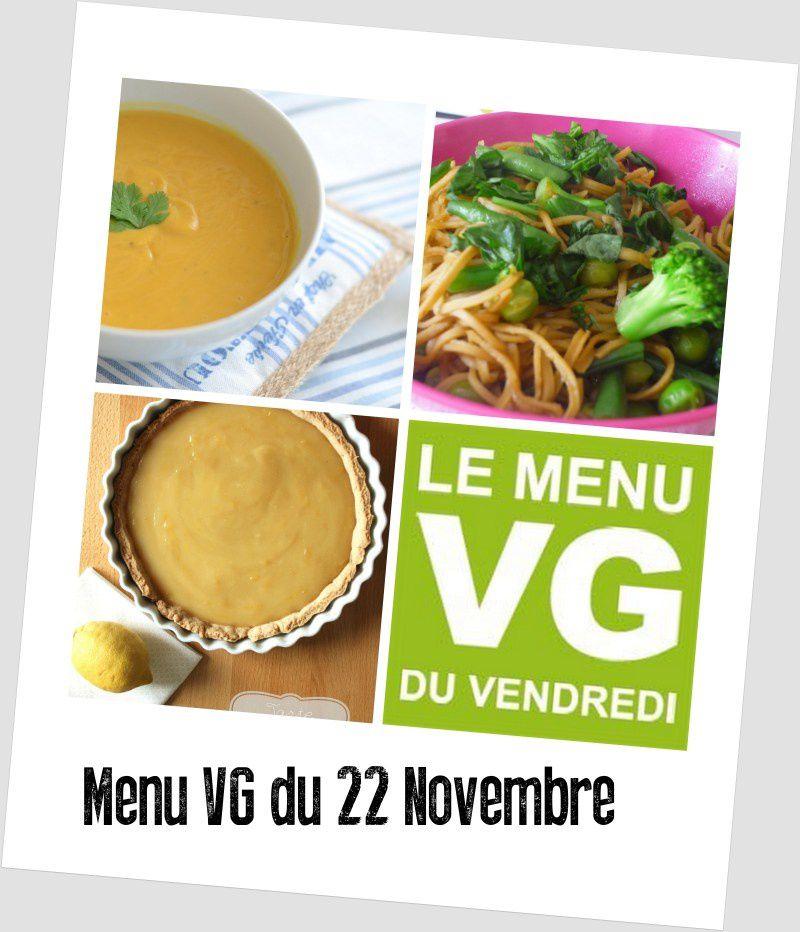 Menu VG du vendredi N°54 ~Très chaudoudoux ~