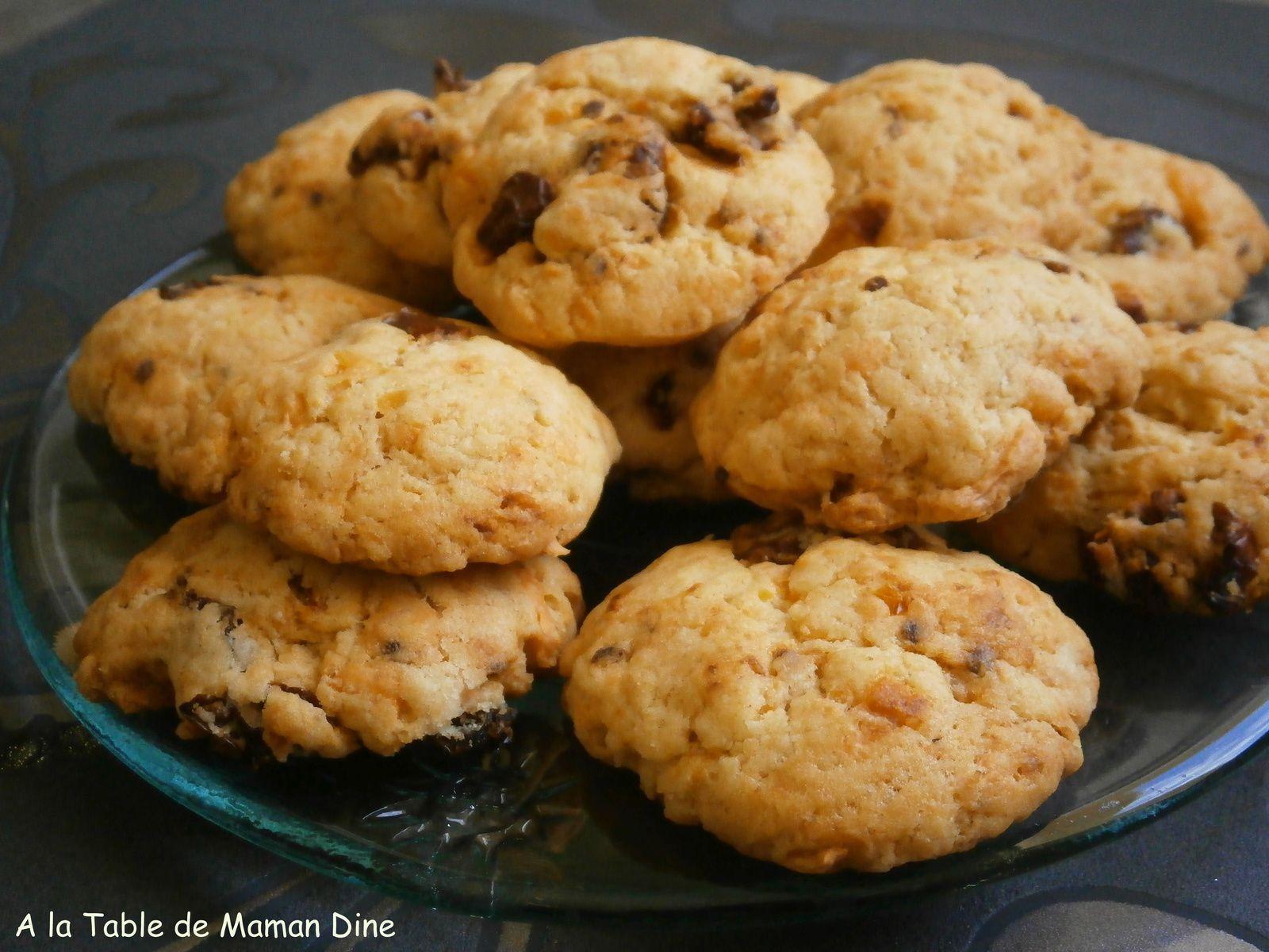 Cookies salés tomates séchées, mimolette et cumin