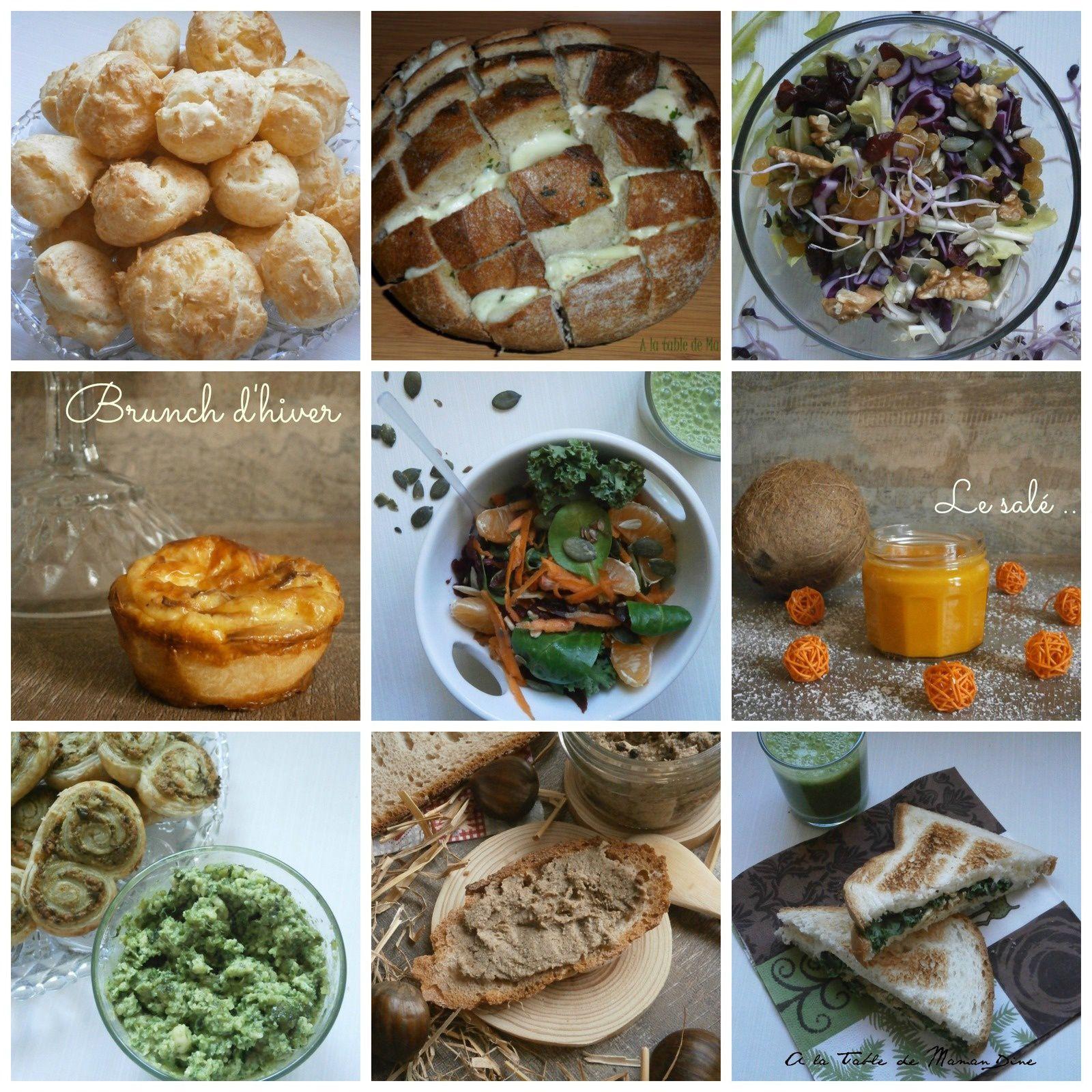 Brunch d'hiver ~ Végétarien & Végétalien ~