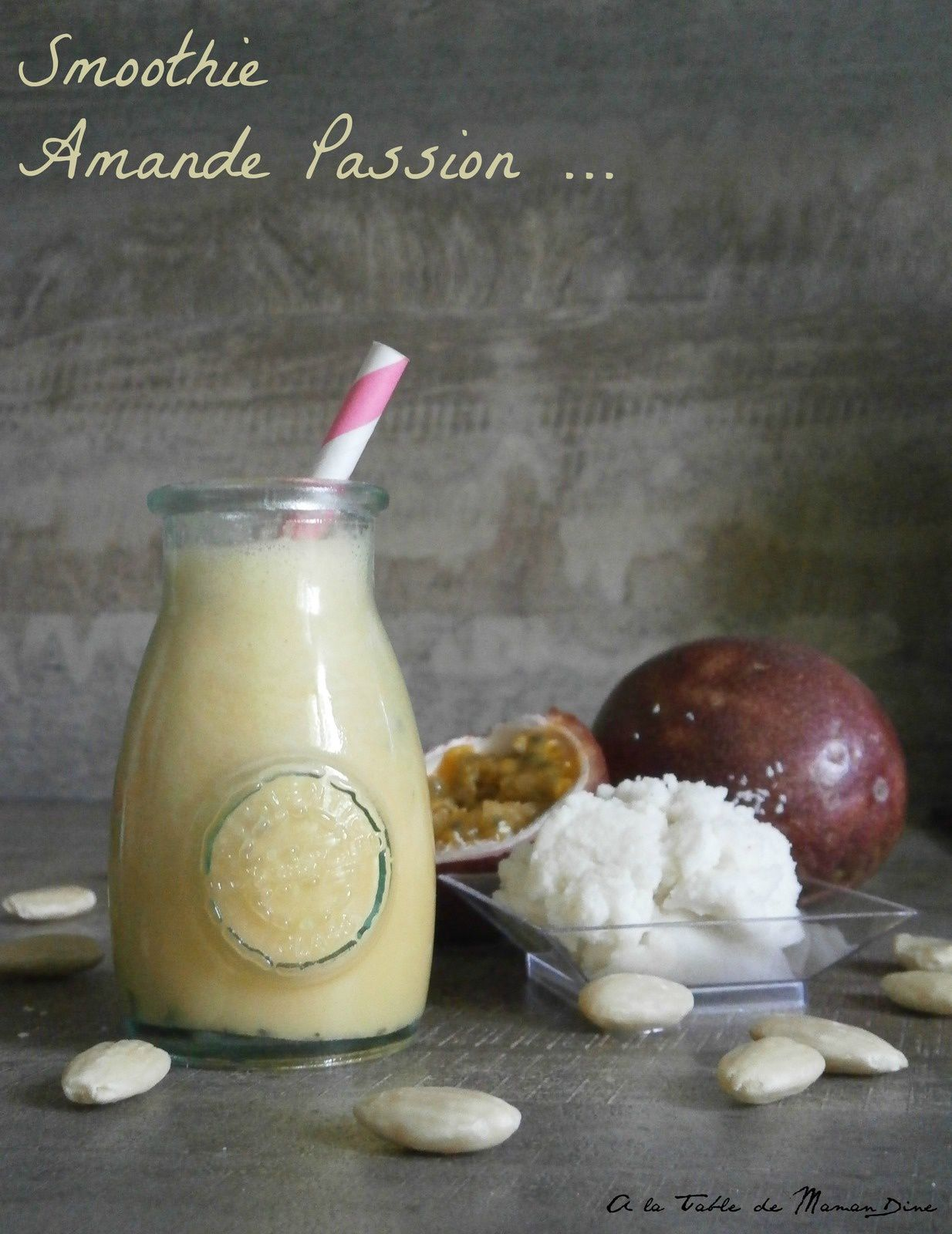 Smoothie Amande Passion