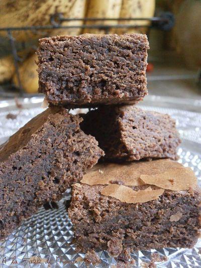 Brownie choco pralinoise
