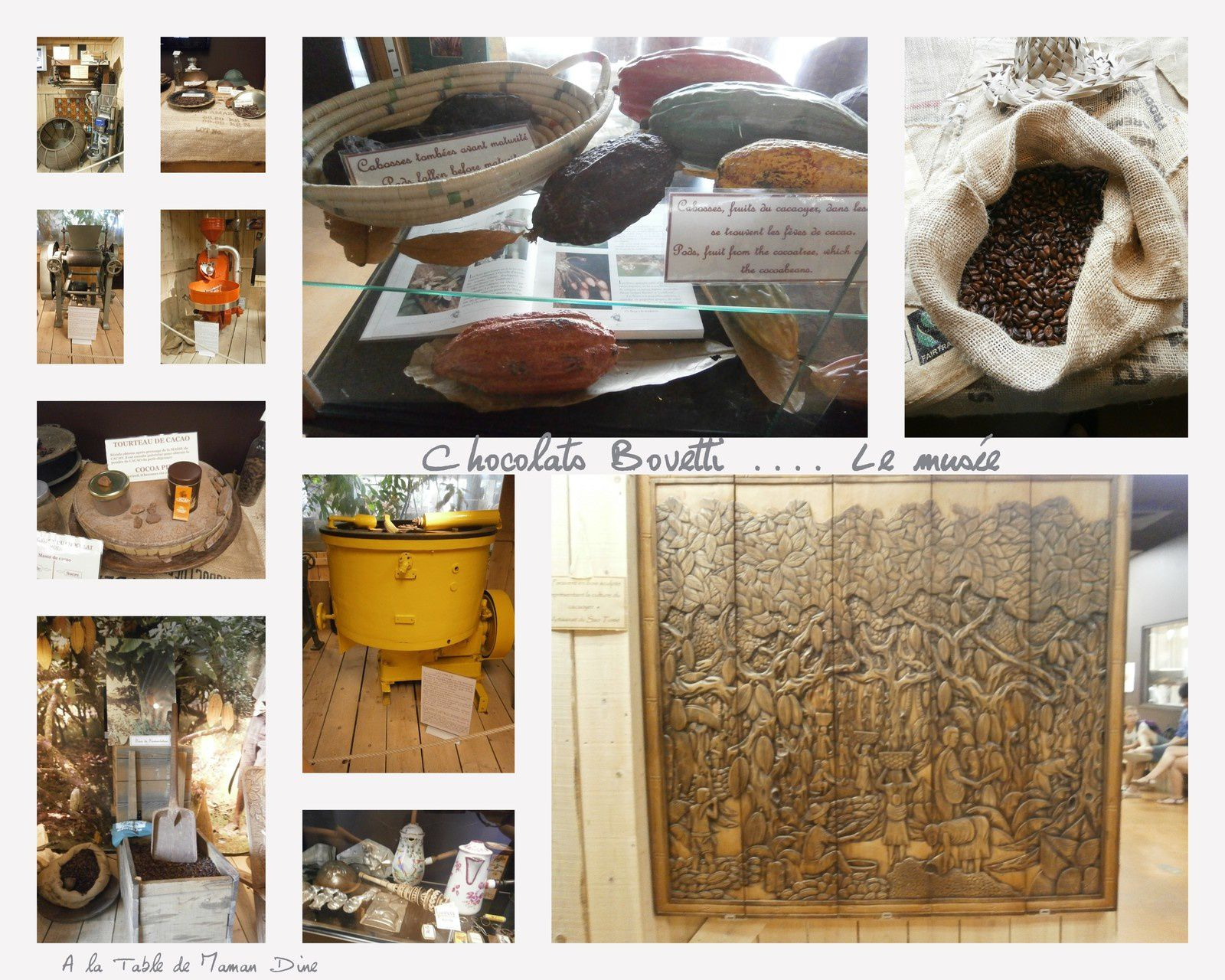 Chocolaterie et musée Bovetti ~ Ballade gourmande en Perigord ~