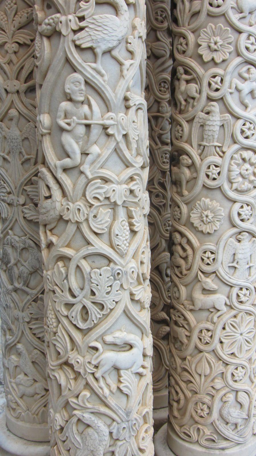 La Cathédrale de Montreale : nous admirons notamment les mosaïques avec Marie Connan