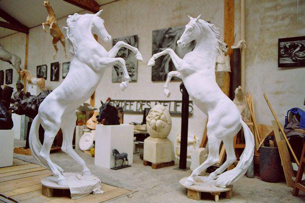 KASPER et ses superbes chevaux pour ma belle fille - DEVILLE CHABROLLE pour mon grand