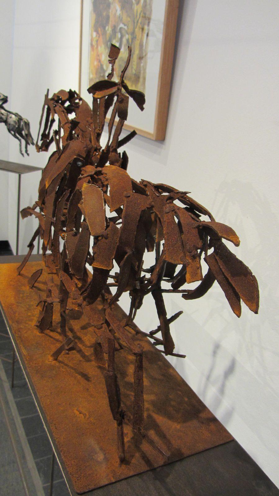 ART CHEVAL À SAUMUR !!! une belle découverte : Christian HIRLAY, sculpteur.