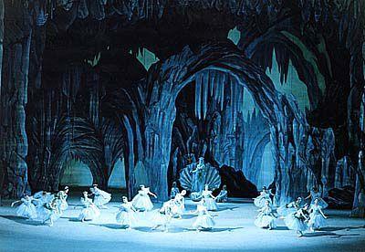 LA FILLE DU PHARAON en 2000 pour le théâtre du Bolchoï de Moscou