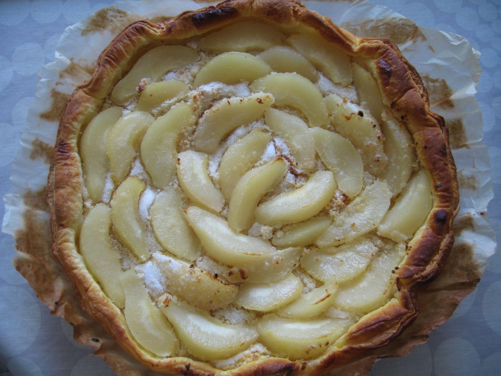 Tarte aux abricots ou aux poires