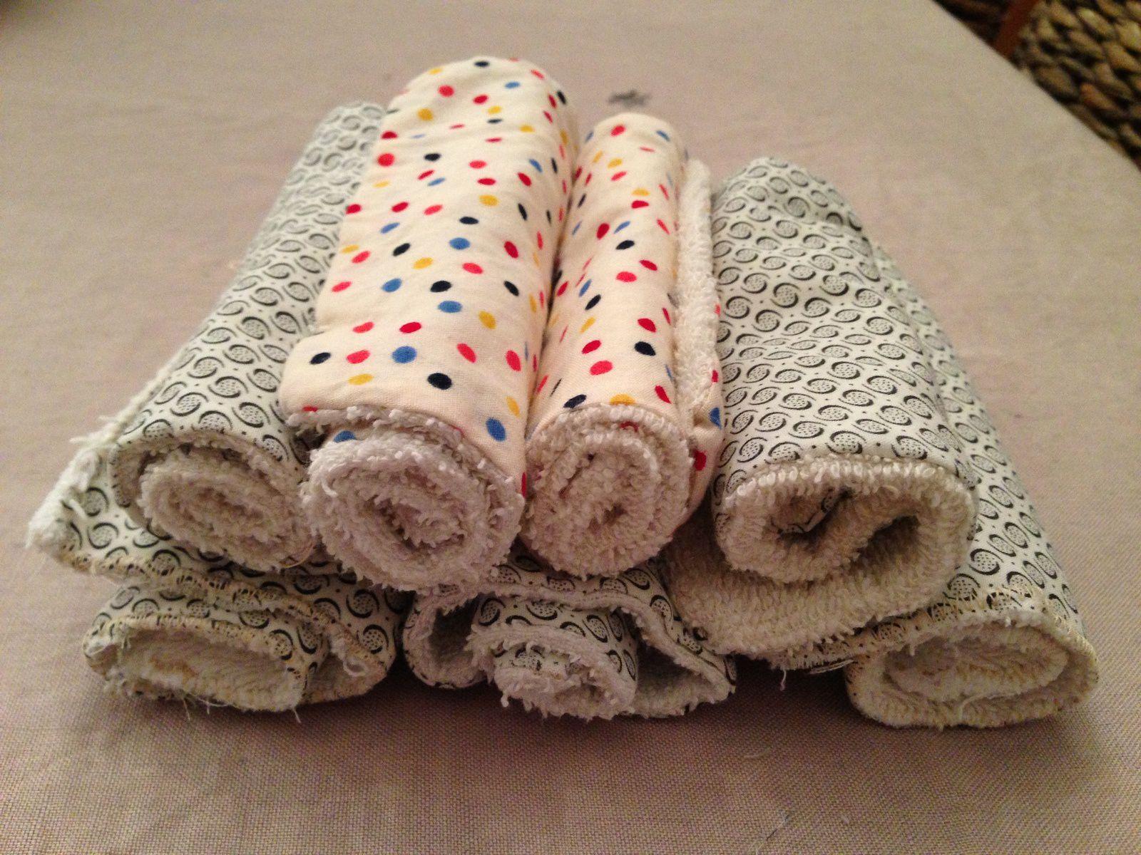 Des mini-serviettes de toilette pour BB Léopold