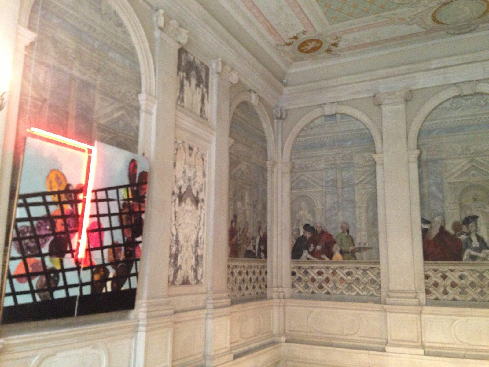 Expo Martial Raysse au Palazzo Grassi à...Venise