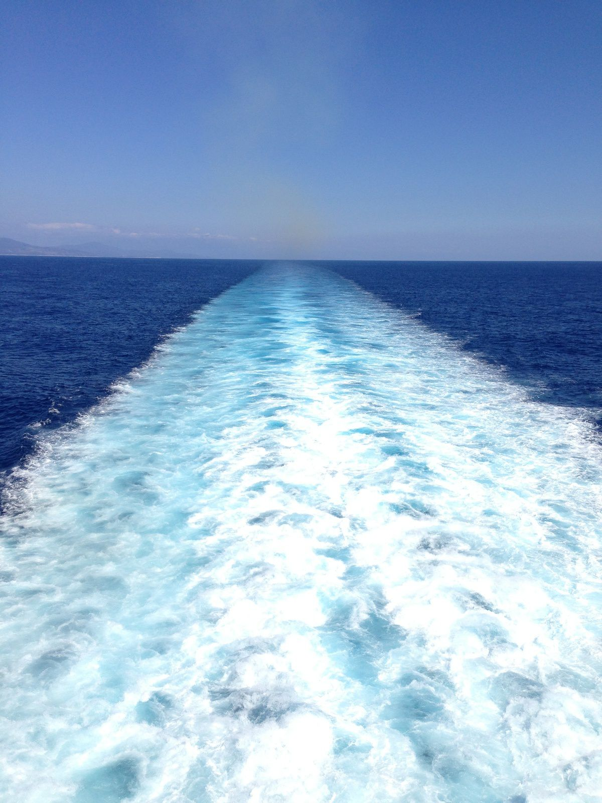 Incroyable balade en mer...