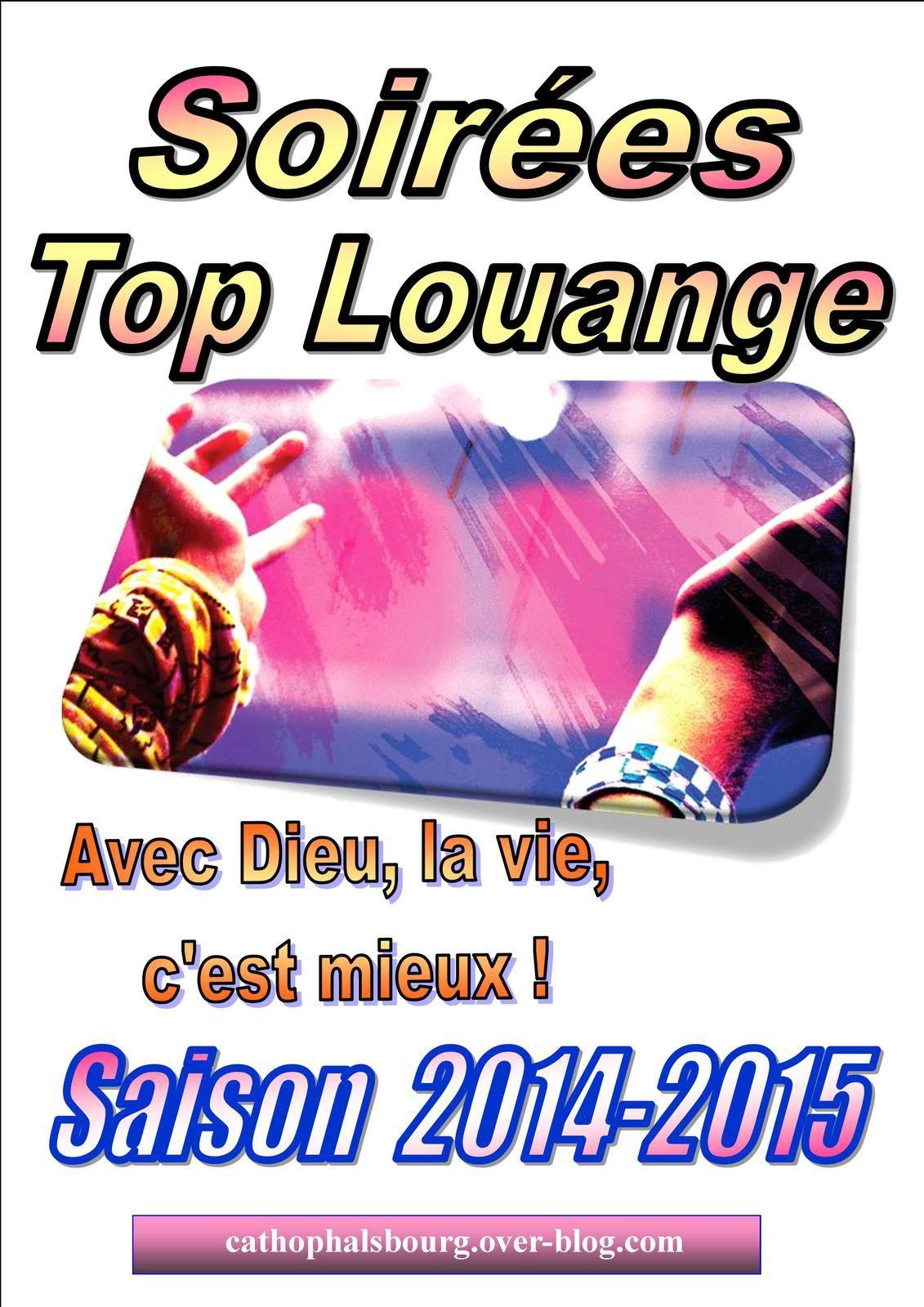SOIREE TOP LOUANGE vendredi 10 octobre