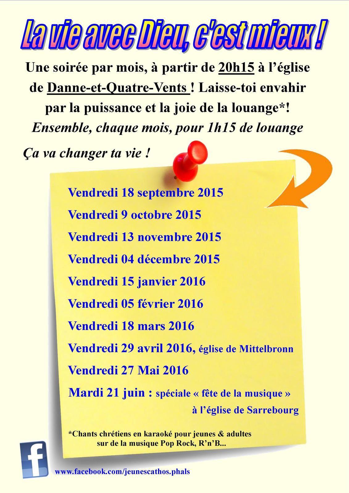 Top Louange: saison 2015-2016