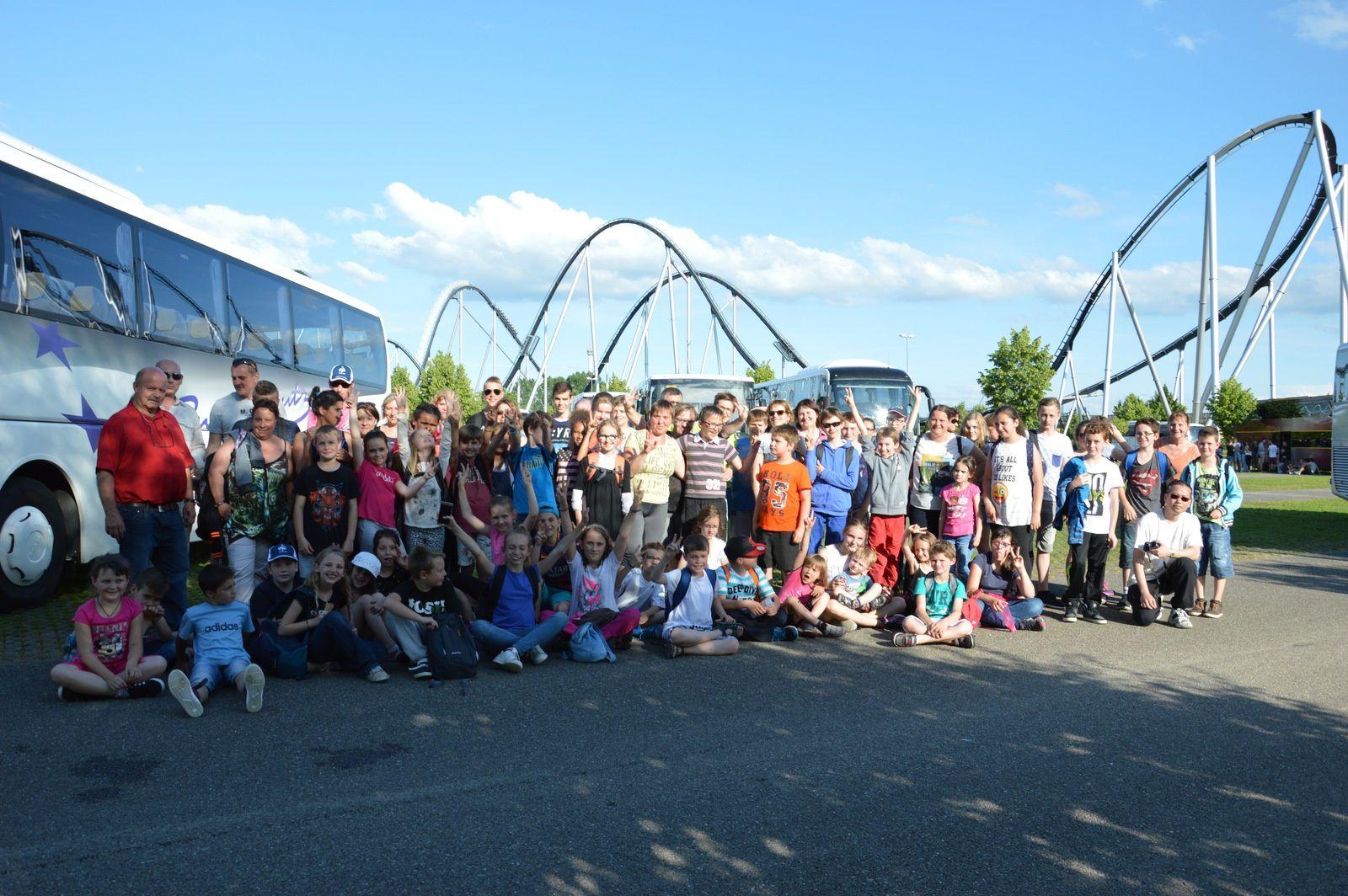 Sortie des enfants de choeur à Europa Park