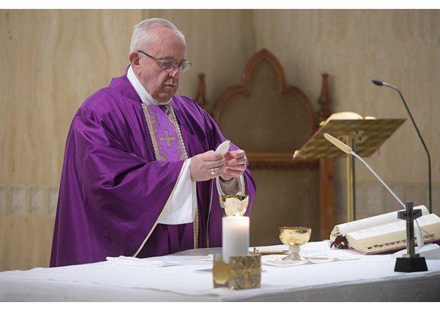 Pape François : si nous ne suivons pas le Christ, notre foi devient désincarnée et idéologique