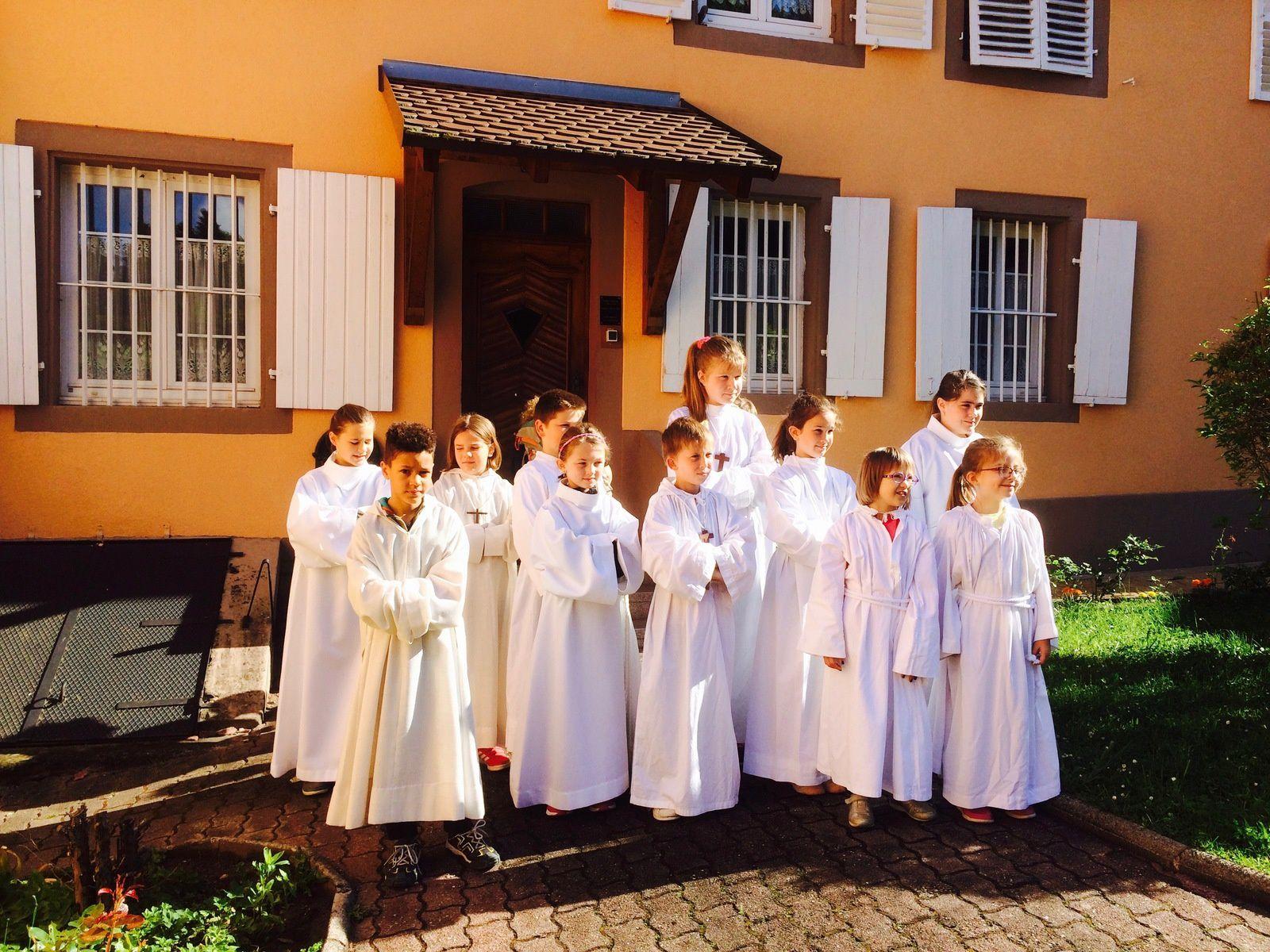 Sortie détente pour les servants d'autel de la communauté de paroisses Saint Jean-Baptiste