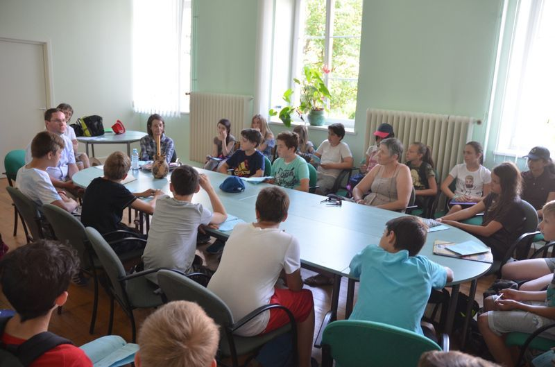 Journée des sixièmes à Saint-Jean-de-Bassel