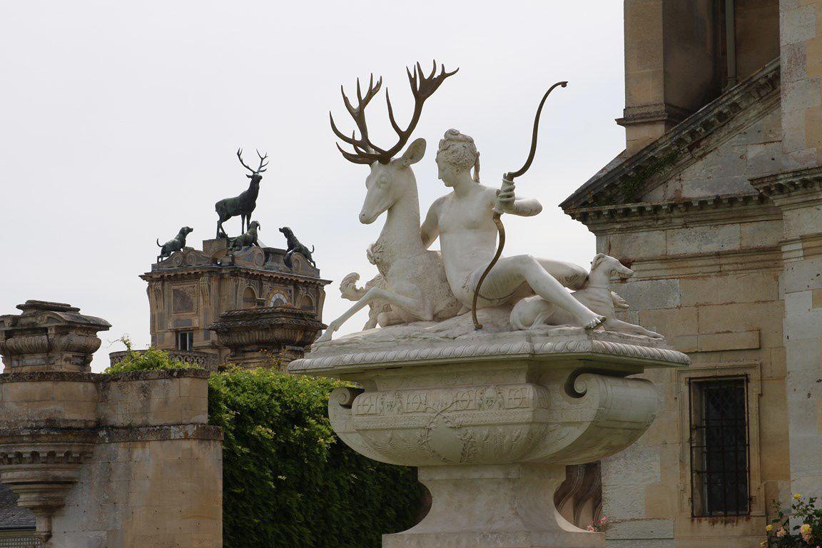Le château d'Anet, chargé de l'histoire de Diane de Poitier