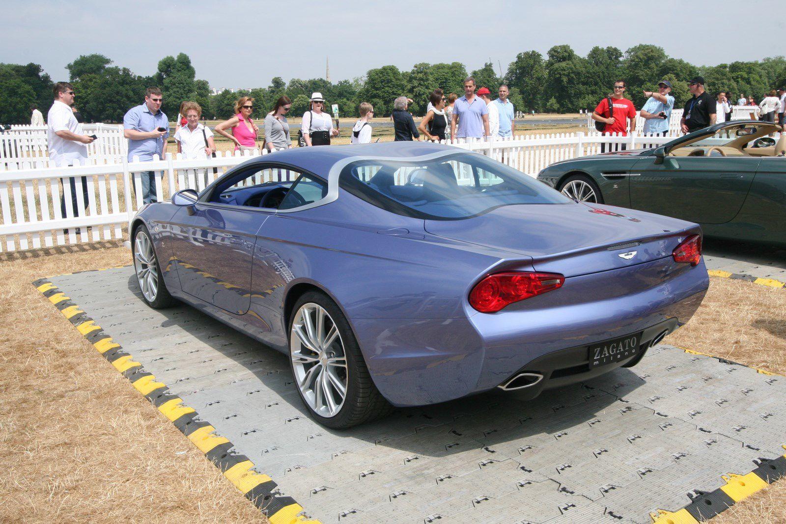 Les DBS Coupe Zagato Centenial et DB9 Spider Zagato Centenial, modèles présentés pour la première fois au public