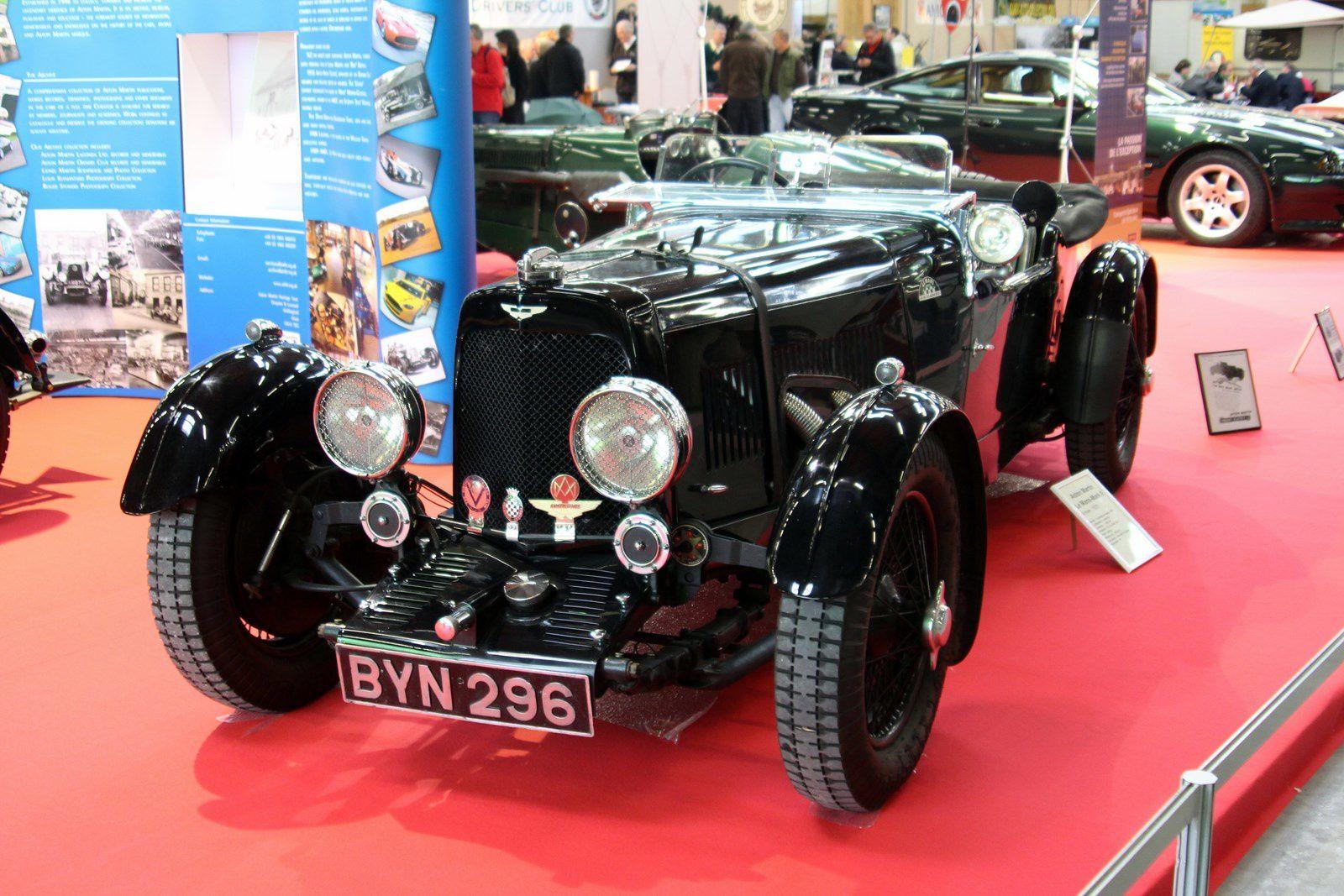 Le centenaire Aston Martin à Automédon