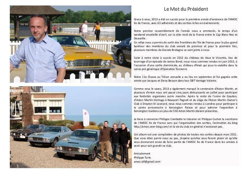 L'album photo de l'AMOC Ile de France 2013