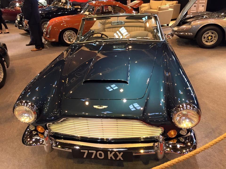 Quelques Aston Martin exposées à Rétromobile 2015