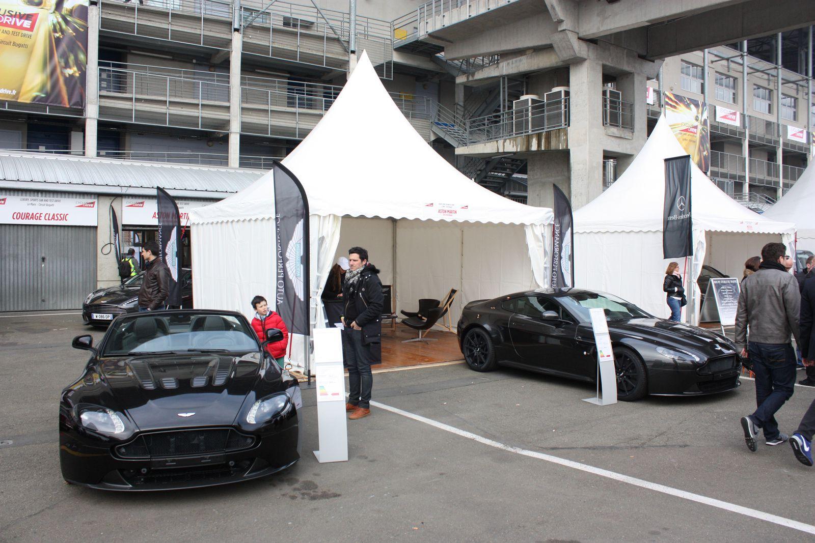 Aston Martin - Auto Performance - Circuit Bugatti Le Mans