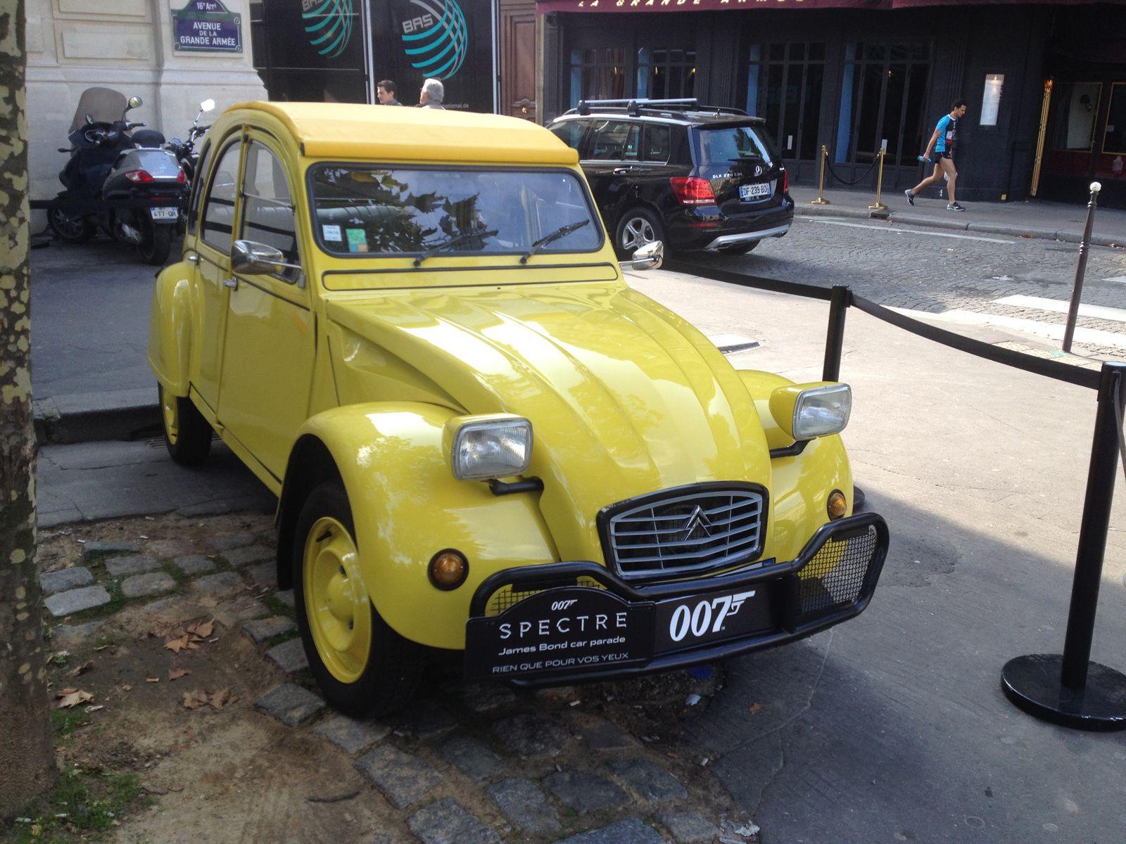 James Bond sur les Champs Elysées !
