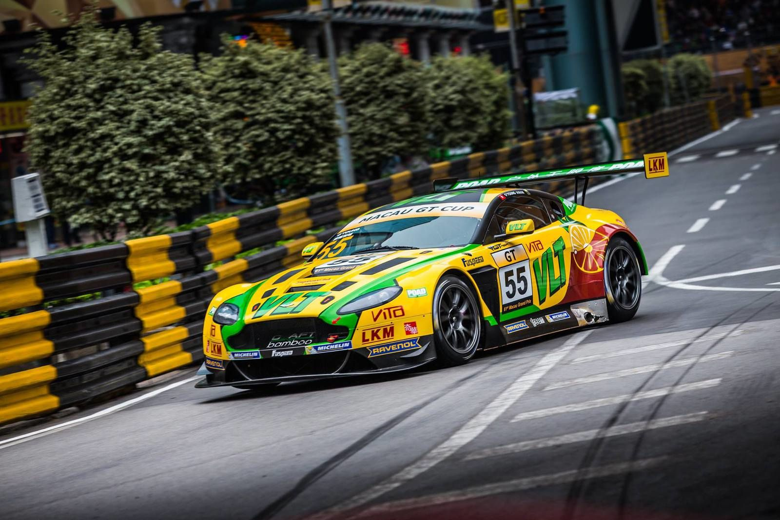 Craft Bamboo Racing - AMR - FIA GT World Cup à Macao