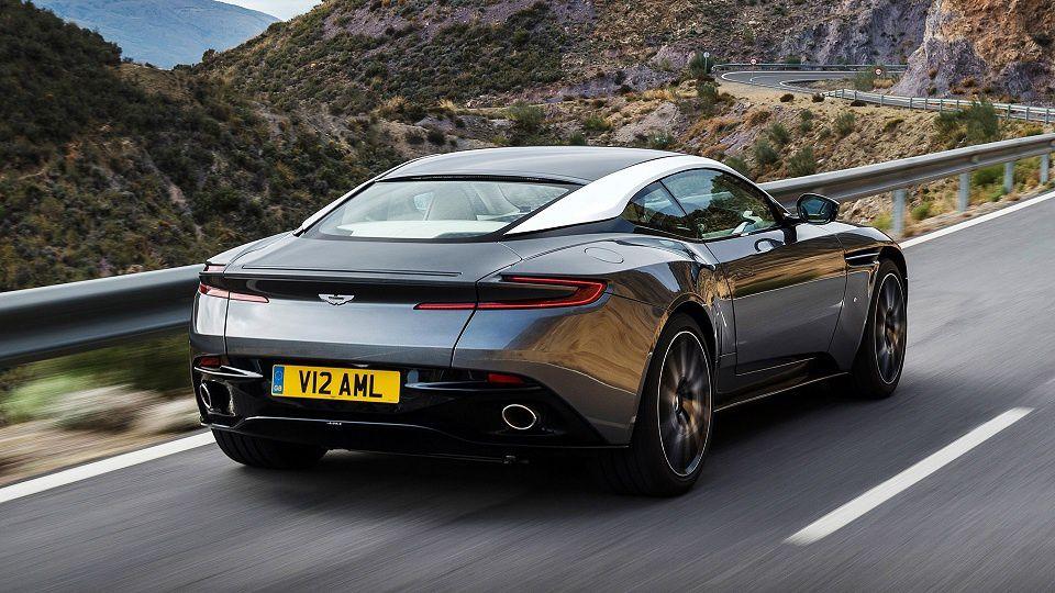 Présentation de l'Aston Martin DB11 - Salon de Genève