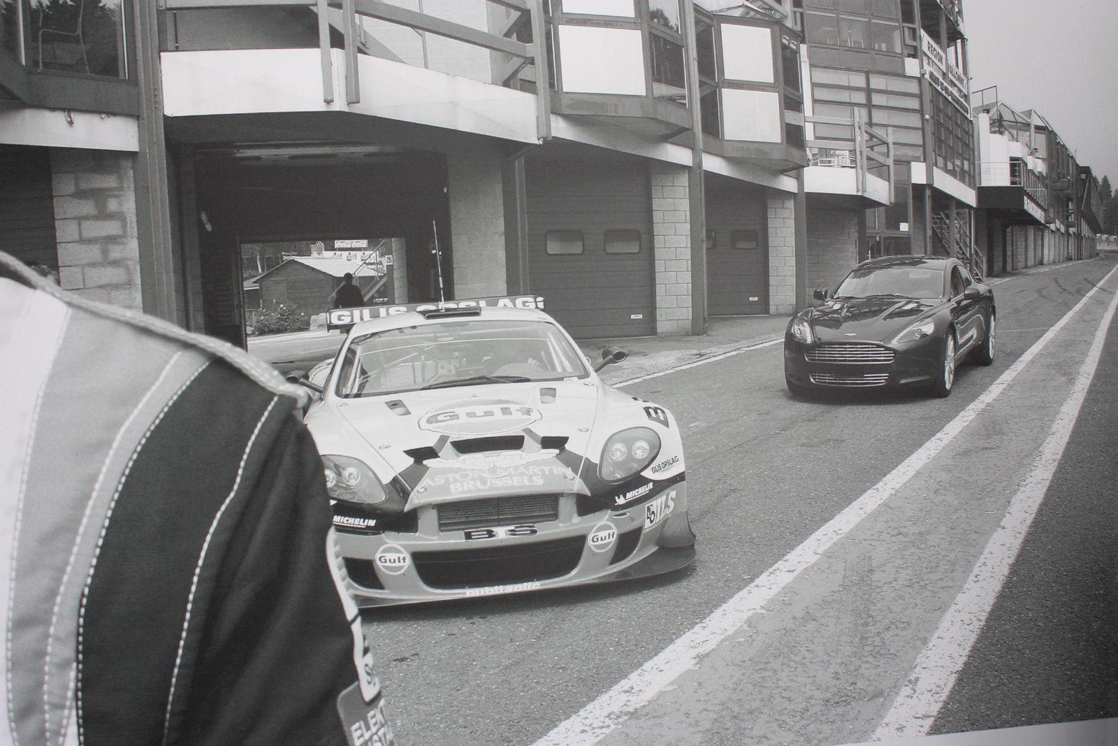 Aston Martin Brussels & V12 Vantage GT3