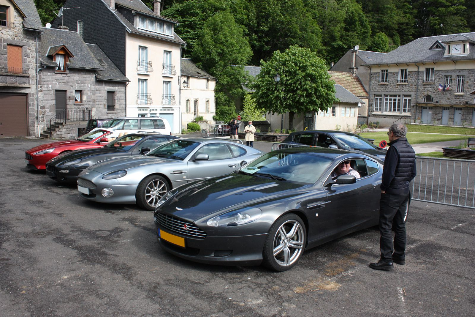 Rallye Auvergne : Basilique Romane d'Orcival
