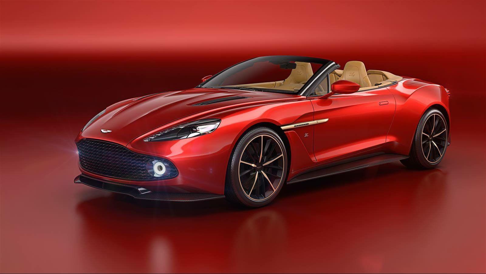 Aston Martin Vanquish Zagato Volante !