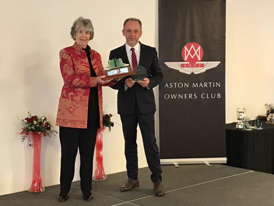AMOC France : &quot&#x3B;Green Shoes Trophy for Best Area Representative&quot&#x3B;